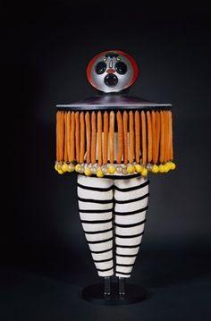 Figurine zum Triadischen Ballett (Der Taucher), 1922,Oskar Schlemmer, Figurine zum Triadischen Ballett (Der Taucher), 1922, verschiedene Materialien Foto: Staatsgalerie Stuttgart, Leihgabe der Freunde der Staatsgalerie