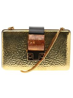 Lanvin Gold Clutch