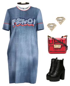 Pop Punk by pupuwang on Polyvore featuring Fendi, Lanvin and New Look