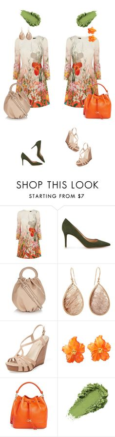 """""""Spring, Flowers, Variations. Ver.4"""" by kjstylerussia ❤ liked on Polyvore featuring Gianvito Rossi, Loewe, Seychelles and Salvatore Ferragamo"""