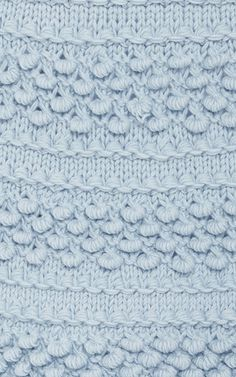 Wool Scallop Stitched Hand Knit Mini Skirt by ORLEY Now Available on Moda Operandi
