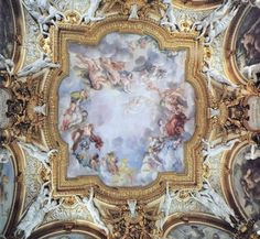 Visit one of the most impressive picture galleries in Florence boasting masterpieces by Raphael, Titian, Rubens and many more Renaissance and Baroque era painters. Fresco, Visit Florence, School Murals, The Masterpiece, Caravaggio, Classical Art, Beautiful Buildings, Renaissance, Vintage World Maps
