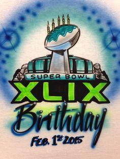 Super Bowl t-shirt