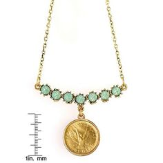 ANGEL COIN SWAG NECKALCE