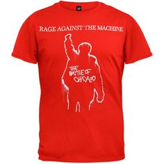 Rage Against The Machine - Battle Of Chicago T-Shirt