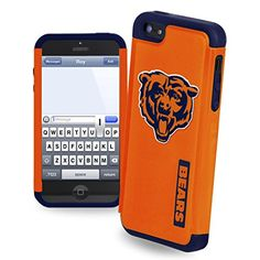 Forever Collectibles NFL Dual Hybrid iPhone 5/5S Rugged Case - CHICAGO BEARS - Price: $13.99 http://astore.amazon.com/nflcells-20/detail/B00NS9L14Y