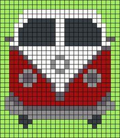 VW Van Perler Bead Pattern