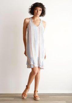 f732527a5cf86 Luxe EQ · Products · Bella Dahl Ruffle Tiered Tank Dress