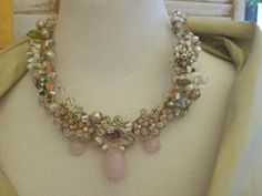 """Garbage"" necklace by Angela Resendiz"