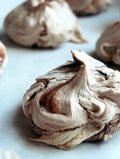 Nutella Meringues (not dairy-free)