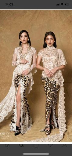 Style hijab wisuda 48 new ideas Kebaya Lace, Batik Kebaya, Kebaya Dress, Batik Dress, Trendy Fashion, Fashion Outfits, Trendy Style, Model Kebaya Modern, Indonesian Kebaya