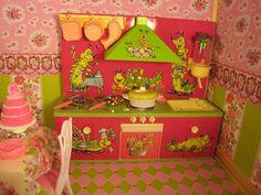 Vintage German Tin Kitchen by Primrose Princess, via Flickr
