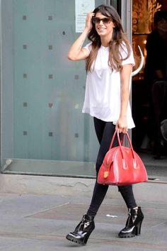 Celebrities Style 2013: Elisabetta Canalis, Samantha Barks e Daisy Lowe in Miu Miu #miumiu #prada #elisabettacanalis #fashion #look