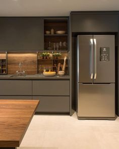Rustic Kitchen, Kitchen Remodel, Kitchen Design, Kitchen Shelf Inspiration, Home Decor Kitchen, Kitchen Interior, Kitchen Layout, Apartment Kitchen, Modern Kitchen Design