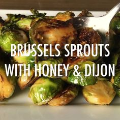 Best Brussels Sprouts The best way to make Brussels sprouts, caramelized with Dijon and honey on the stovetop. Super easy and guaranteed to turn a Brussels sprouts hater into a fan. Sprout Recipes, Vegetable Recipes, Vegetarian Recipes, Healthy Recipes, Honey Recipes, Vegetarian Dinners, Mushroom Recipes, Recipe With Brussels Sprouts, Eating Clean