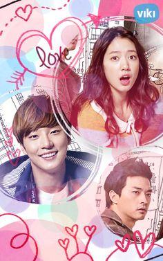 Flower Boy Next Door ♥ Park Shin Hye as Go Dok Mi (Rapunzel) ♥ Yoon Shi Yoon as Enrique Geum ♥ Kim Ji Hoon as Oh Jin Rok (Guardian) ♥ Happy Valentine's Day!