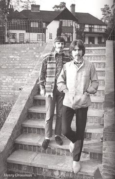 George Harrison and Richard Starkey