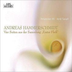 HAMMERSCHMIDT, A.: Chamber Music (Hesperion XXI, Savall) de Jordi Savall