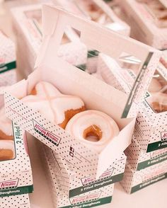 This is so awesome! #krispykreme wedding favors! #foodie