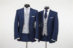 York - Vintage Wedding Suit – Blue from Jack Bunneys 3