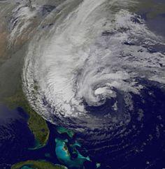 The NOAA predicts an active 2013 Atlantic hurricane season. (via NOAA; photo via NOAA/NASA)