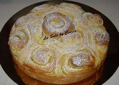 Torta di Rose con mele e crema pasticcera