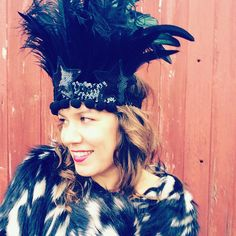 Get your festive party outfit sorted now. Check out this glorious headdress and epaulette set. An absolute winner for the party season ahead.
