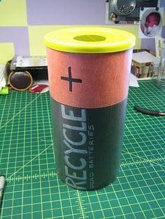 47 Pilas Y Baterías Medalla De Plata Avmv Ideas Recycling Battery Recycling Save Earth
