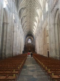 The lovely Winchester Cathedral