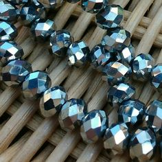 Strands Of These 6mm Silver Crystal Beads Are Now Available In My Etsy
