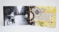 Minialbum | made using recycled materials | by Anski