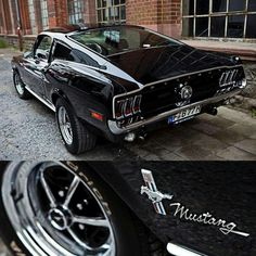 '68 Black Flawless Mustang Fastback - US Trailer would love to sell used trailers in any condition to or from you. Contact USTrailer and let us lease your trailer. Click to http://USTrailer.com or Call 816-795-8484 #mustangclassiccars