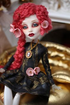 OOAK Monster High Ruby | Flickr - Photo Sharing!