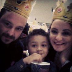 Rei, Rainha e Príncipe das gordices! #burgerking #bk #instafood #instalove #vaigordinho