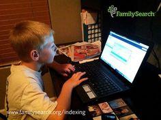 Seja um voluntário ativo na indexação do FamilySearch desfrutando das bençãos prometidas se unindo a este formidável grupo em #AcelerarAPesquisa www.FamilySearch.org/indexing #familysearch #indexacao