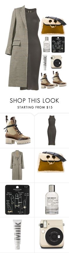 """thus"" by millicent4 ❤ liked on Polyvore featuring Rick Owens, STELLA McCARTNEY, J.W. Anderson, Topshop, Le Labo, MILK MAKEUP and MICHAEL Michael Kors"