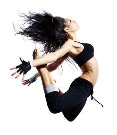 Sofia Boutella jump