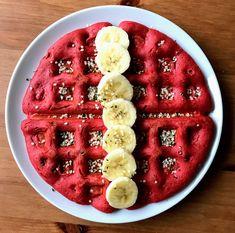 Vegan Red Velvet Waffles Recipe