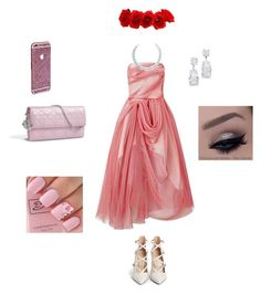 """""""prom look"""" by nianaap ❤ liked on Polyvore featuring Gianvito Rossi and Maticevski"""