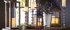 Shop This Look: Lanterns, Candle Holders & More by Room Refresh | from hayneedle.com