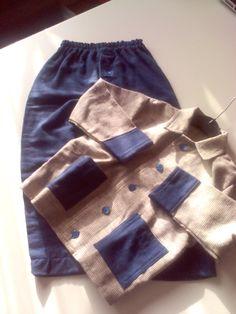 Pijama flanel (patroon kindermarion 1985)