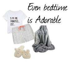 """""""Bedtime is Cute too"""" by lainey-elaina ❤ liked on Polyvore featuring Forever 21, Topshop and pajamas"""