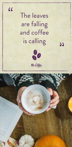 There's nothing like a warm latte on a chilly fall day. Who agrees?