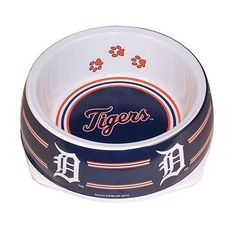 Sporty K9 MLB Detroit Tigers Pet Bowl, Small -- Learn more by visiting the image link.