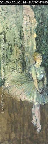 Danseuse, Toulouse Lautrec
