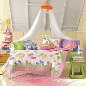 Flip Flop Fun Quilt Bedding - I'm pinning for the colors
