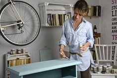 Dekor Paint Soft – a magyar dekorfesték Diy Projects To Try, Decoupage, Diy And Crafts, Restoration, Cabinet, Storage, Living Room, House, Painting
