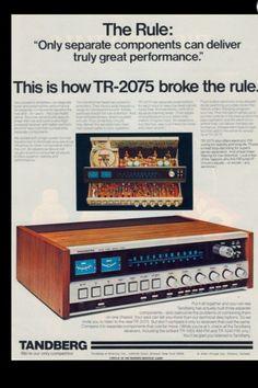 Vintage audio Tandberg Ad Stereo Hi Fi