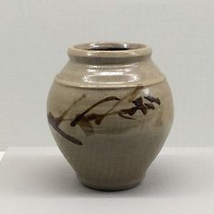Pottery vase by Shoji Hamada (1894-1978) in Mashiko Museum of Ceramic Art | Flickr - Photo Sharing!