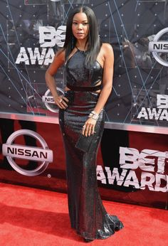 Gabrielle Union in Halston Heritage at the 2015 BET Awards. See all the best looks from the red carpet.